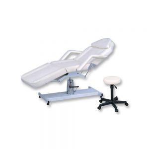 Hydraulic Metal Base Chair w / Stool