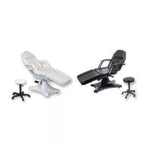 Hydraulic Chair w / Stool