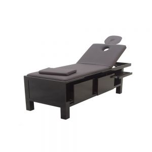Massage Bed Comes in Wht / Blk Storage, Backlift& Headrest