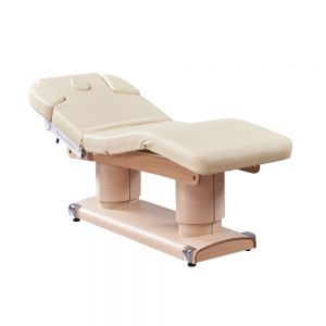 Sona Wooden Electric, Ultra Plush Bed for Facial and Massage