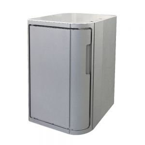 12 pc Aluminum Hot Towel Cabinet w/ UV Sterilizer