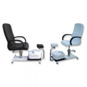 Hydraulic Pedi chair White or Black w / bowl